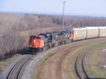 CN 305 departing Moncton May 3 2008